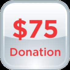 $75 Donation