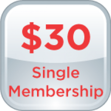 1-Year Single Membership
